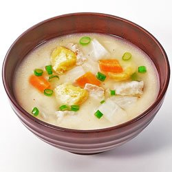 画像1: 【味噌汁 フリーズドライ】関西の母の味かす汁(化学調味料無添加)15.0gX10袋セット【コスモス食品】