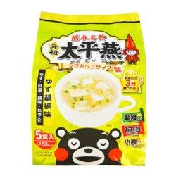 画像1: 熊本 ご当地グルメ 太平燕(たいぴーえん) ゆず胡椒味 5食入 くまモン マグカップサイズ イケダ食品